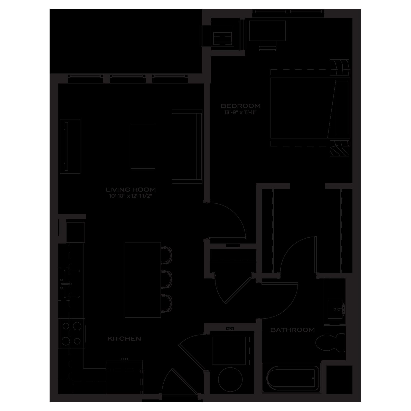 The Marke Floor Plan A2