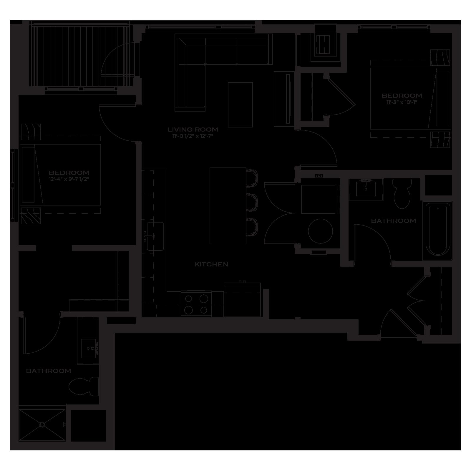 The Marke Floor Plan B3