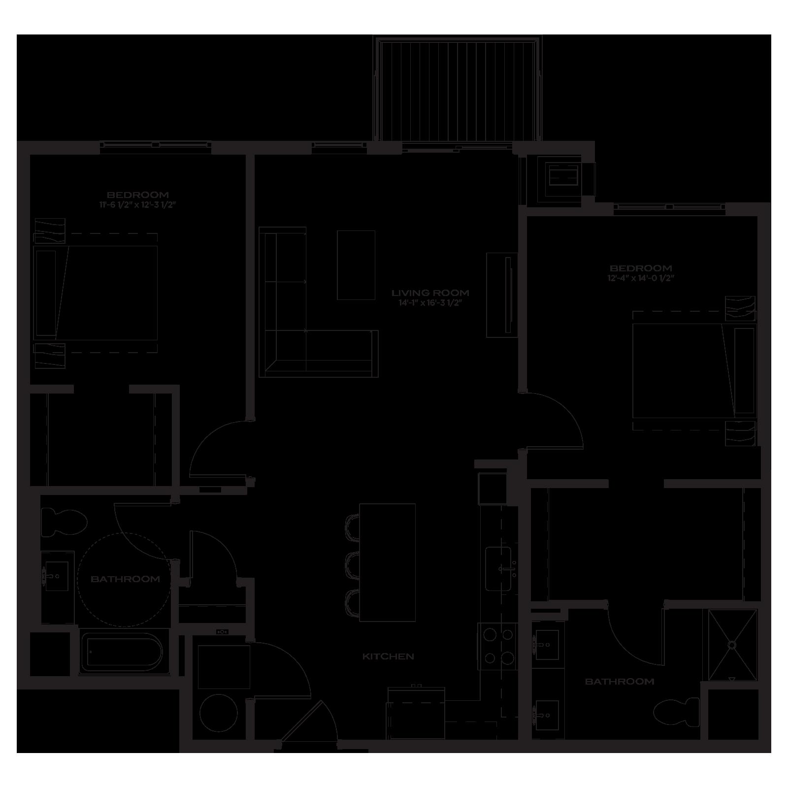 The Marke Floor Plan B5