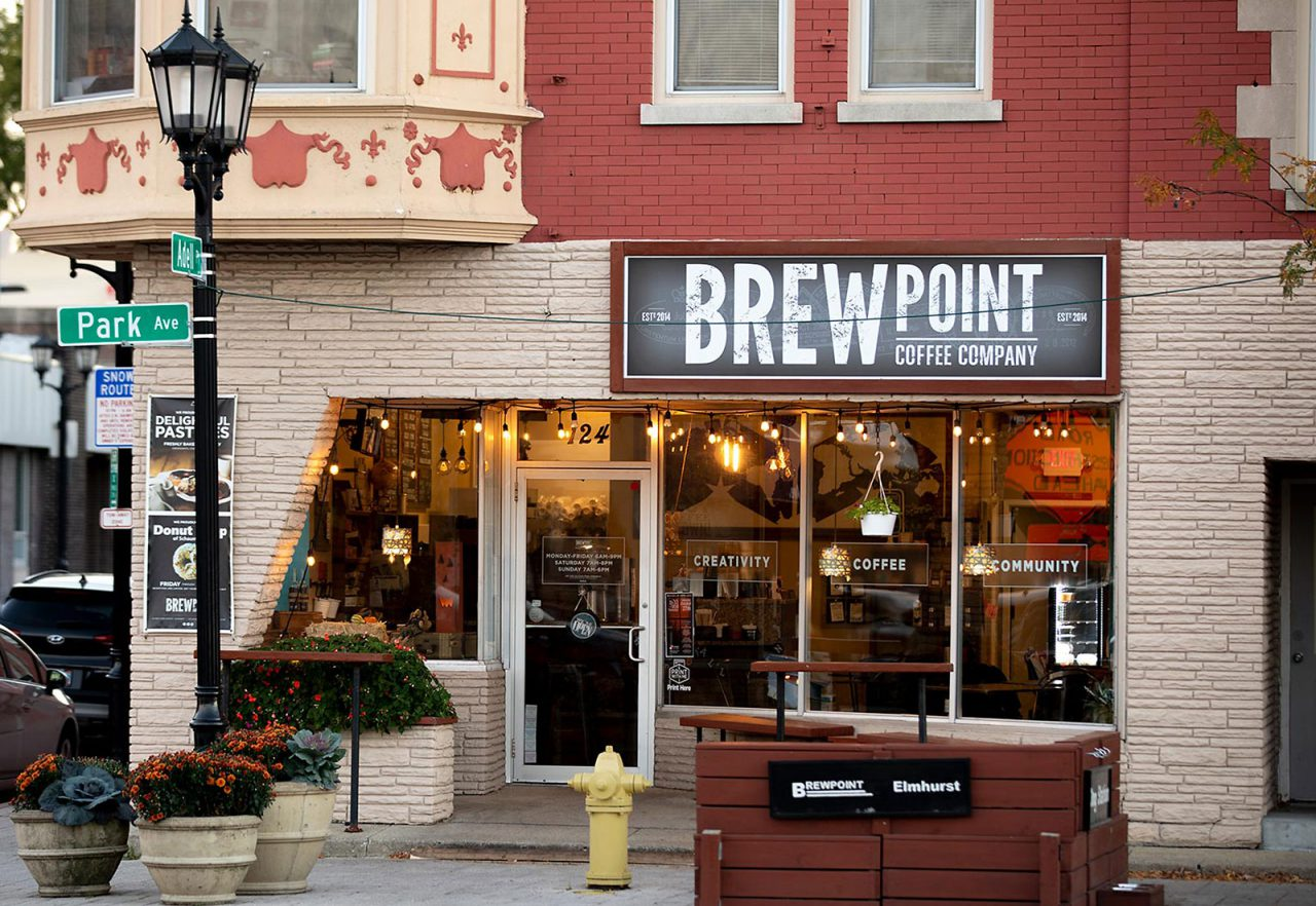 The Marke Apartments Elmhurst Neighborhood Brewpoint Coffee