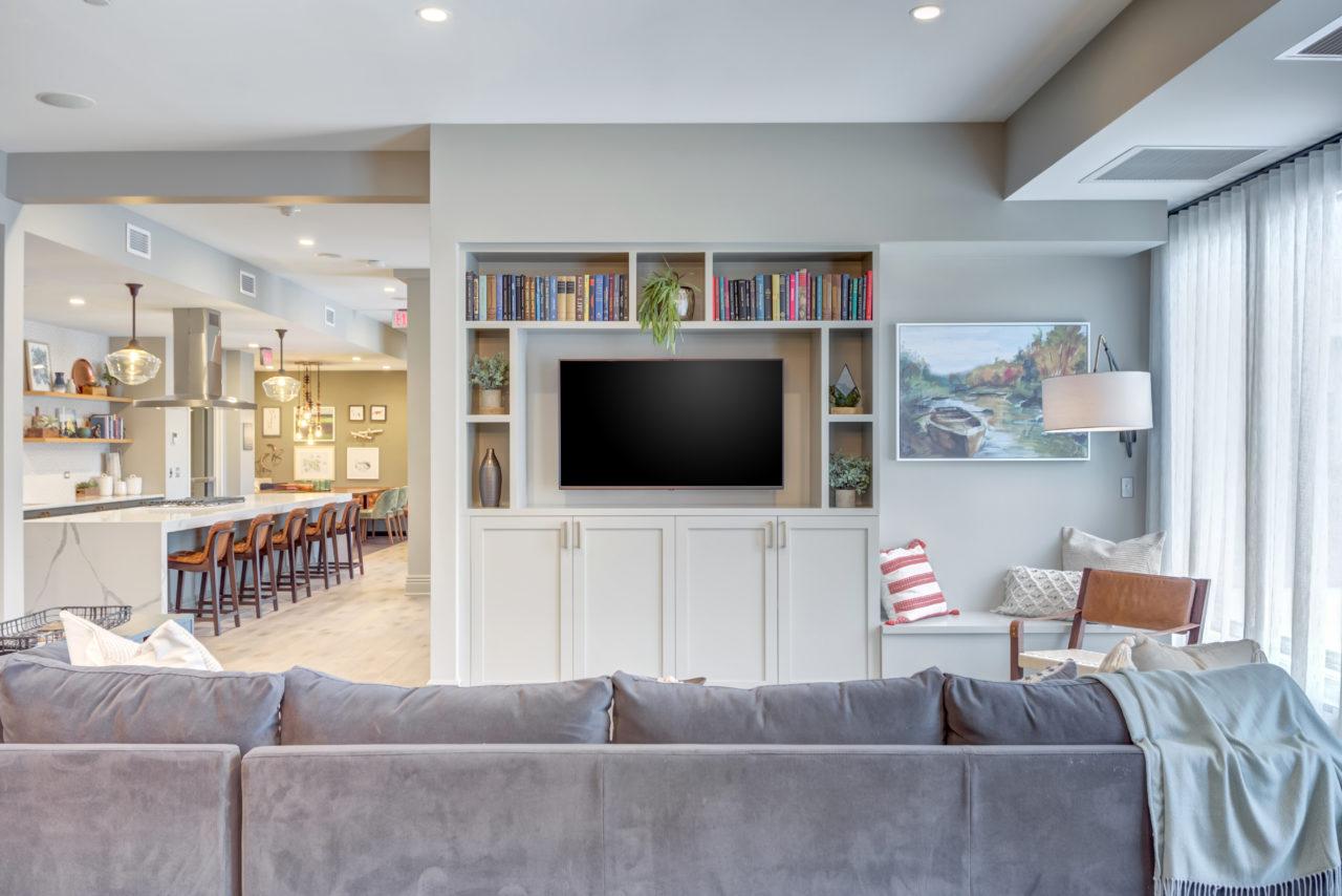 The Marke Elmhurst Living Room