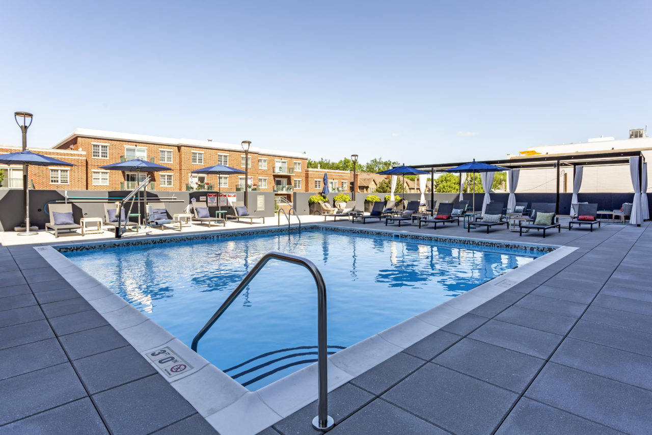 The Marke Elmhurst Outdoor Pool