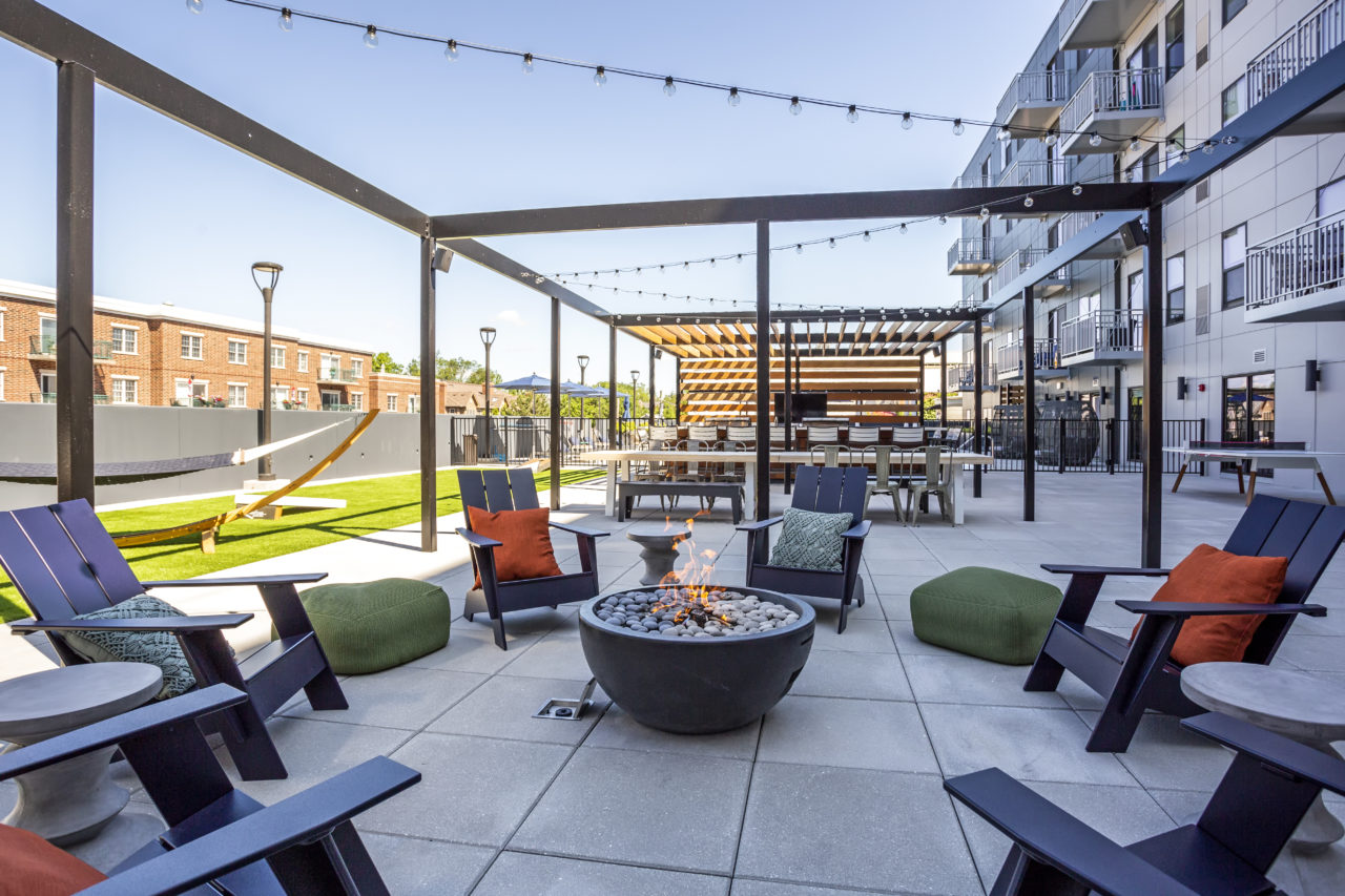 The Marke Elmhurst Outdoor Patio