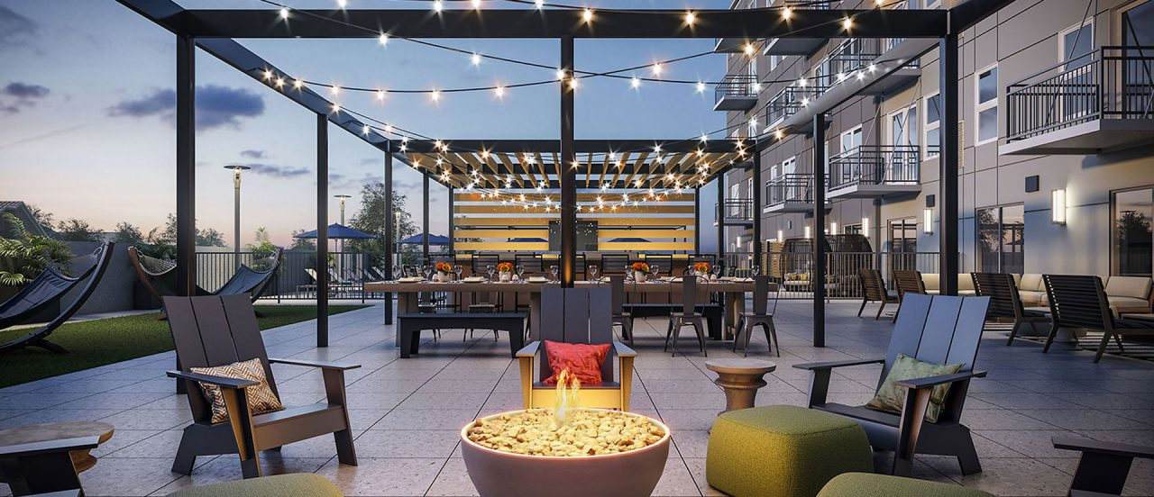 The Marke Apartments Gallery Roofdeck Social Lounge